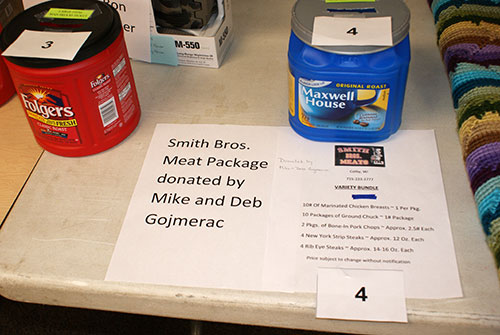 meat package for large raffle