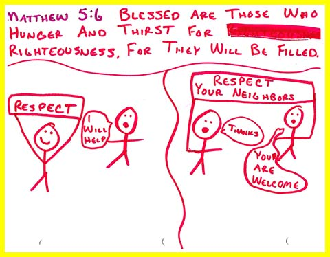 Siara's Beatitudes booklet - Blessed are They who Hunger and Thirst for Righteousness