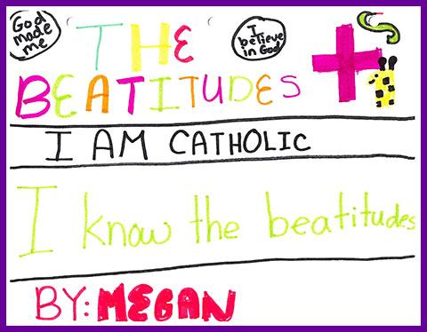 Megan's Beatitudes Cover