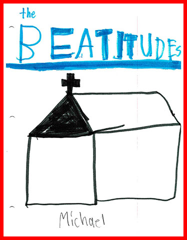 Cover Page for Michael's Beatitudes Booklet