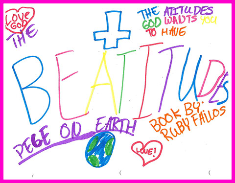 Ruby's 4th Grade Beatitudes Booklet Cover