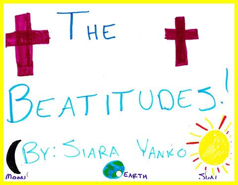 Siara's Beatitudes booklet cover