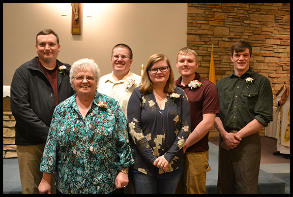 2019 RCIA participants initiated at Easter vigil service