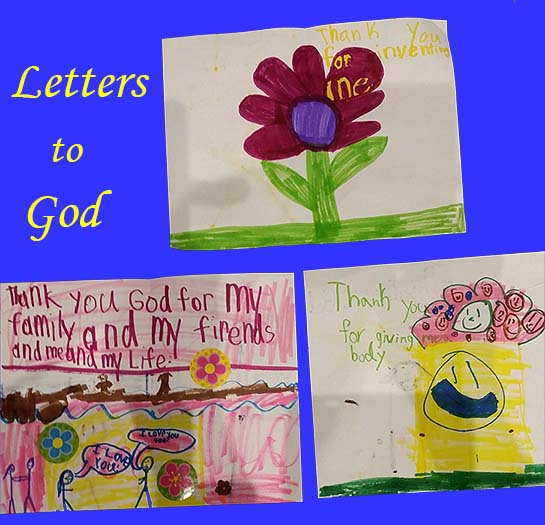 First Grade Letters to God