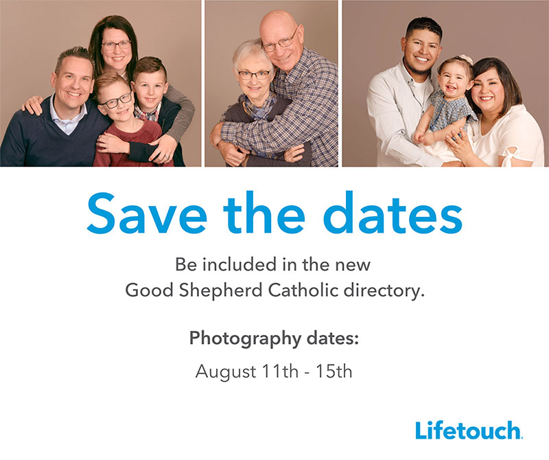 Save the date for pictorial directory